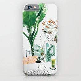 Junglow #illustration #decor iPhone Case