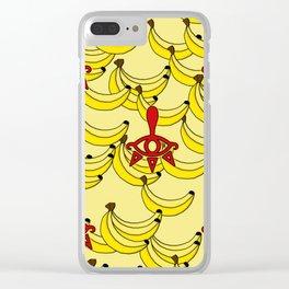 Banana Clan Clear iPhone Case
