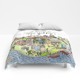 New York City Love Comforters
