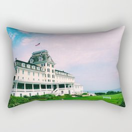 Ocean House Hotel in Watch Hill Rhode Island Rectangular Pillow