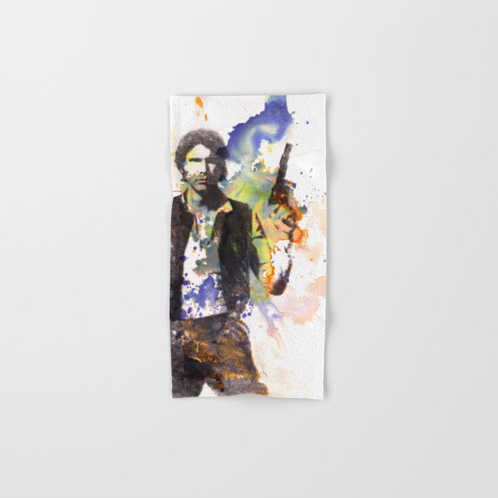 Han Solo From Star Wars  Hand & Bath Towel