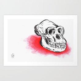 Ape Shit  Art Print