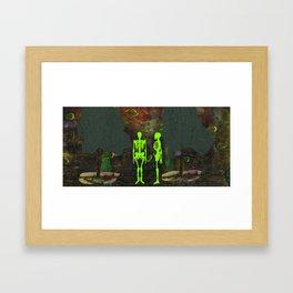 La Petite Mort, No. 4 Framed Art Print