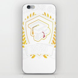 Class-of-2029---Class-of-2029-Graduation-T-Shirt---Sao-chép iPhone Skin