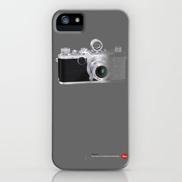 LEICA LC in Context iPhone Case