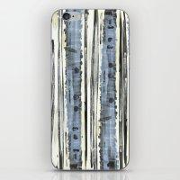 birch iPhone & iPod Skins featuring Birch by Sand Salt Moon