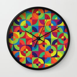 Cyclical No. 4 Wall Clock