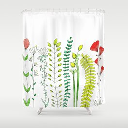 Wildflowers Shower Curtain