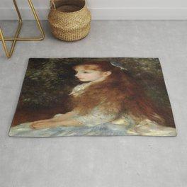 Pierre-Auguste Renoir's Little Irene Rug