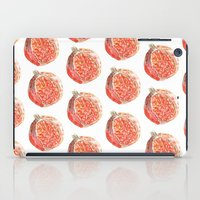 pomegranate iPad Cases featuring Pomegranate by Imanol Buisan
