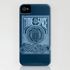 Time and Space iPhone (4, 4s) Slim Case
