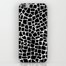British Mosaic Black and White iPhone & iPod Skin