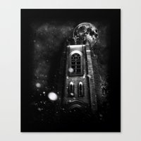 sin city Canvas Prints featuring Sin City by kidkyngstyle