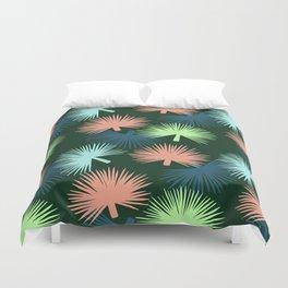 oversized palms Duvet Cover