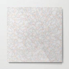 Marble With Party Metal Print