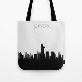 City Skylines: New York City Tote Bag
