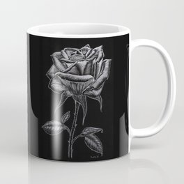 Silver Rose Coffee Mug