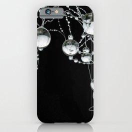3d water drop,drip,dribble,tear graphic art. iPhone Case