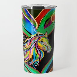 I HEART my HORSE! Travel Mug