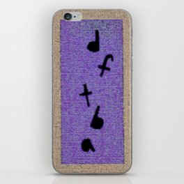 DFTBA iPhone Skin