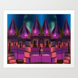 The secret place Art Print