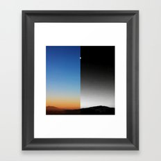 Day & Night Framed Art Print