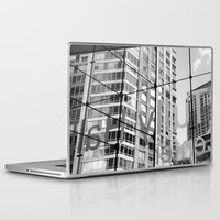 lincoln Laptop & iPad Skins featuring Lincoln Center by Emily Werboff