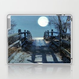 Under The Moonbeams Laptop & iPad Skin