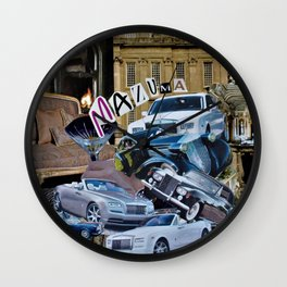 Mazuma Wall Clock
