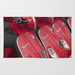 Racey Red Vespa Rug