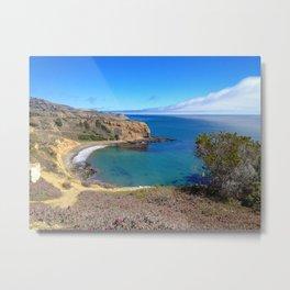 California Cliffs Metal Print