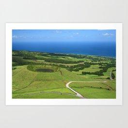 Sao Miguel, Azores Art Print