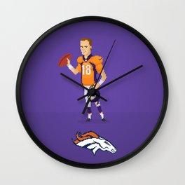 Manning The Great Wall Clock