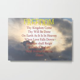 Thy Kingdom Come Metal Print