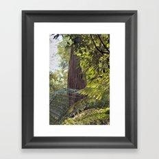 Wood Monolith Framed Art Print