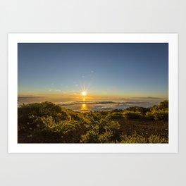 La Palma sunrise Art Print