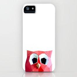 hoot hoot papier iPhone Case
