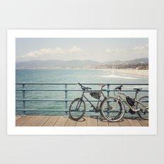 La Vida California Art Print