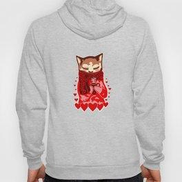 Cozy Cat & Hearts Hoody