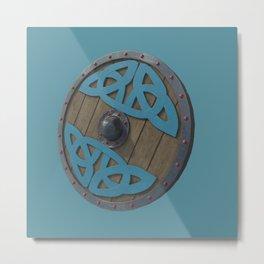 The Viking Shield Metal Print