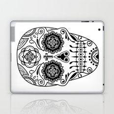 Deco Sugar Skull 2 Laptop & iPad Skin