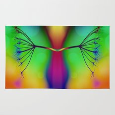 Butterfly... You My Friend, Are A Victim Of Disorganised Thinking... Rug