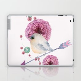 Cute Bird and Dandelion Laptop & iPad Skin
