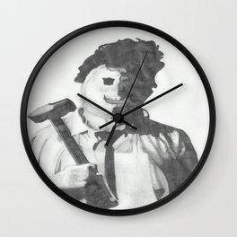Leatherface. Wall Clock