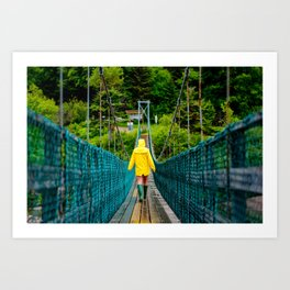 Fundy Footpath Art Print