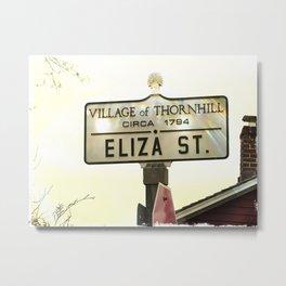 Eliza Street Metal Print