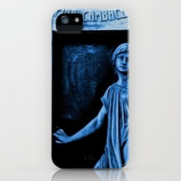 Tomb of Rufina Cambaceres - The Girl That Died Twice Portrait Painting by Jeanpaul Ferro iPhone Case