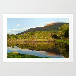 Reflections on Loch Etive Art Print