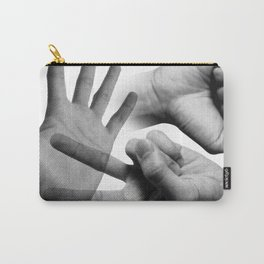 Rock Paper Scissors Carry-All Pouch