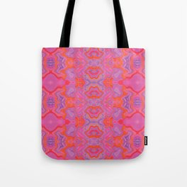 Mad pink marble 2 Tote Bag